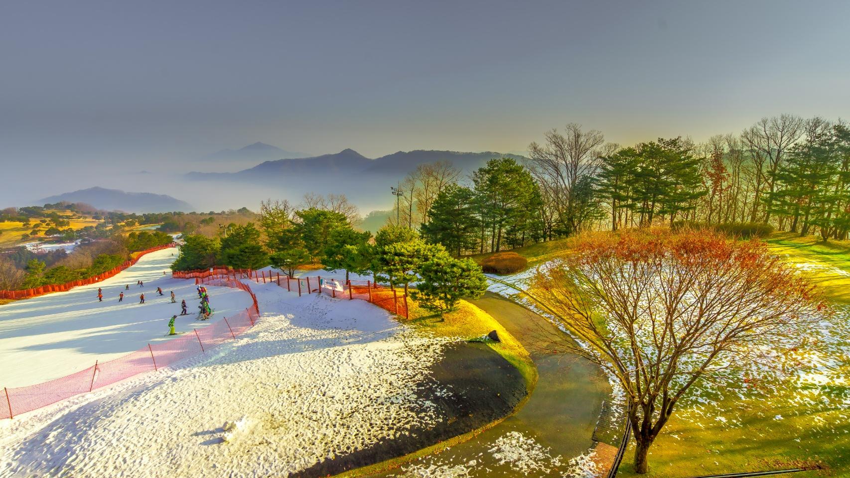 【韓國洪川】大明維瓦爾第度假村滑雪套餐